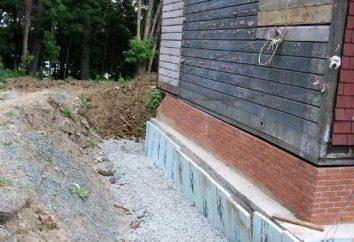 Cómo hacer que el drenaje alrededor de la casa: la opción más fácil y confiable
