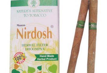 Papierosy niebędące nikotyną: recenzje, instrukcje, zdjęcie