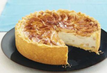 Doce e delicioso bolo de coalhada de maçã