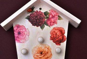 ofícios úteis para decoração de interiores: Governanta decoupage
