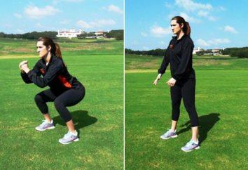 Effektive Übungen für das Gesäß und Oberschenkel – die Schlüssel straff und getönte Beinmuskeln