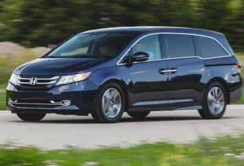 "Minivany ""Honda"": opis, charakterystyka"
