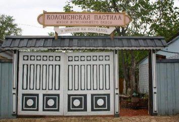 Pastillen Museum in Kolomna: offizielle Website, Fotos und Bewertungen