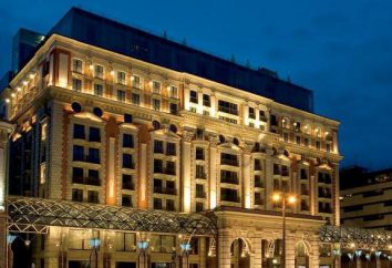 Ritz-Carlton Hotel, Moscou: description et photos