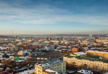 Irkutsk: distritos da cidade (lista)