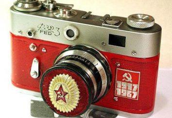 """Caméras de l'URSS: FED, """"Voskhod"""", """"Moscou"""", """"Zenith"""", """"Smena"""""""
