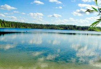 White Lake. região Ryazan e sua pérola