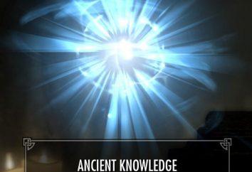 """conhecimento antigo – """"Skyrim"""": passagem"""
