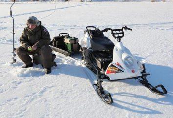 """Snowmobile """"Rybinka"""": cechy techniczne"""
