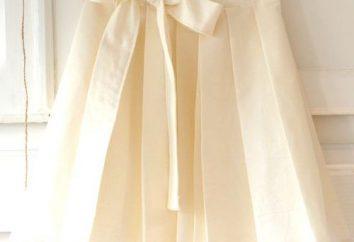 mousseline délicate, ou jupe plissée repassé?