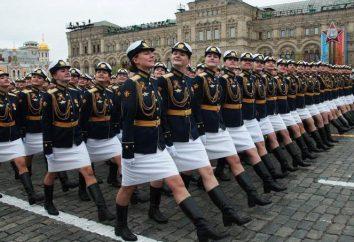 La forme militaire de l'armée russe: des photos, des espèces