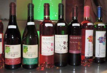 vins chypriotes: types et composition