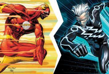 Kto jest szybszy: Flash lub Merkury? pojedynek superbohaterów