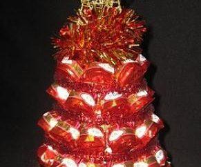 Composição do Natal de doces: presente delicioso