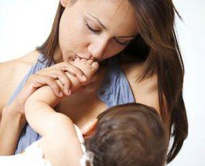 Puis-je Radis mère de soins infirmiers dans les premiers mois?