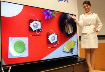 Dispõe de televisão com o 8k resolução. TVs LG, a Sharp com resolução 8k