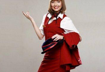 Stewardess kostium: linie mody