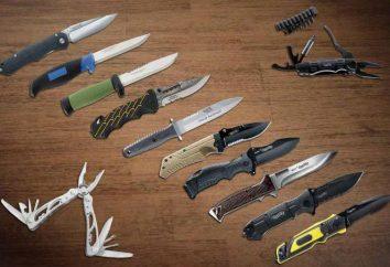 Camping noże: przegląd, cechy, poglądy i opinie