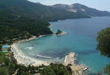Thassos Island (Grecia) – una delle mete turistiche più popolari nel nord del paese