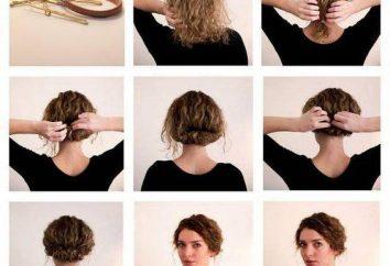 acconciature di tutti i giorni per i capelli corti: istruzioni passo passo, le foto