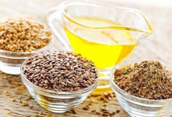El aceite de linaza: beneficios y perjuicios