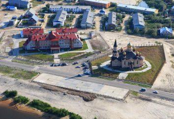 Où est Tarko-Sale? Ville Tarko-Sale, district Pur dans le district autonome de Yamalo-Nenets, Russie