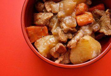 Come rendere stufato di patate in multivarka con carne in umido? Varie forme popolari di cottura pasti