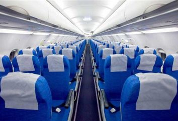 assentos localização na aeronave. O esquema da cabine
