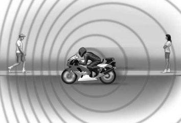 Częstotliwość dźwięku, światła i efekt Dopplera