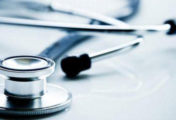 Wstępne badanie lekarskie: kierunek, kolejność przejścia