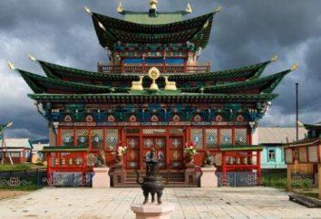 Le bouddhisme en Russie. Les peuples de la Russie, professant le bouddhisme
