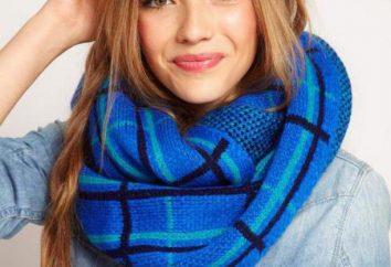 Types de foulards: accessoires de mode