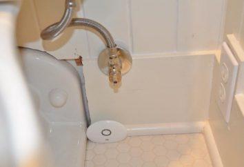 regras de instalação com as suas próprias mãos: detector de vazamento sem fio