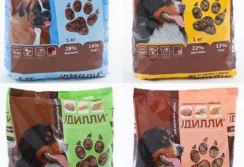 """Food """"Dilly"""" per i cani: composizione, produzione, opinioni"""