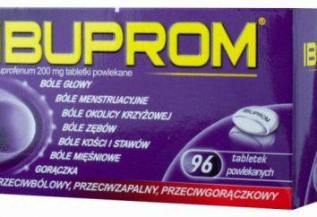 """""""Ibuprom"""": Gebrauchsanweisung, real"""