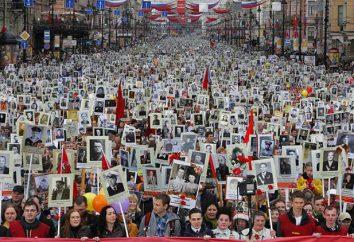 """Iniciativa do Povo """"Regimento Immortal – Moscow"""" como um reflexo da grandeza da Rússia"""