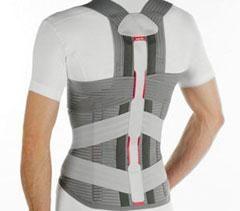 Para ayudar a la espalda baja: corsés para la espalda