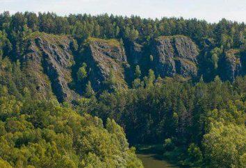 Berd rock – un monumento naturale nella regione di Novosibirsk