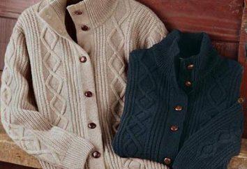 Como a tricotar uma camisola de grandes raios viscosos