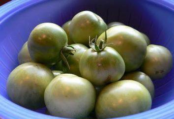 Sour green tomatoes recheado com: receita