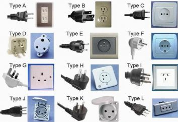 Types de l'appareil, la taille du circuit de la sortie et standart