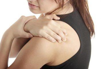 Dolore sotto la scapola sul lato posteriore sinistro: possibile cause