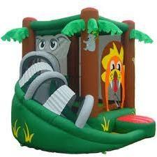 trampolino gonfiabile per i bambini a testimoniare – il miglior intrattenimento!