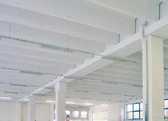 Placas com nervuras para construção civil e industrial