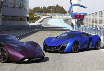 """Car """"Maroussia"""" – pierwszy samochód sportowy domowych w historii rosyjskiego przemysłu samochodowego"""