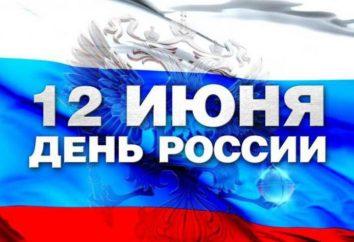 Przyjęcie Deklaracji Suwerenności Państwowej Rosji. 12 czerwca – święto stan Federacji Rosyjskiej