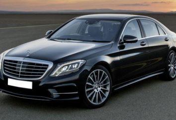"""""""Mercedes W220"""": spécifications techniques, l'équipement, les photos"""