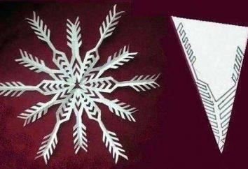 Artikel aus Papier, ohne Kleberücken. Schneeflocken, Engel, Tiere aus Papier: Schaltungsmuster