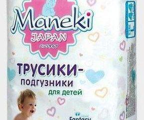Maneki, pieluchy: opinie, zalecenia lekarzy