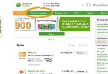"""Jak płacić podatki przez Sbierbank """"Online"""": zestawienie"""